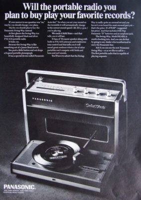 Panasonic Swing Way SL-610 magazine ad